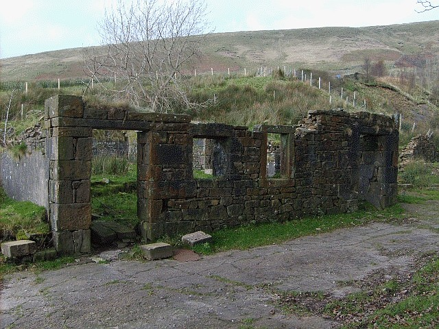Remains of Trough House Farm