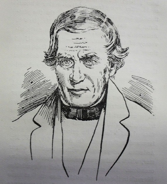 "Sketch of Thomas Swindlehurst from the book ""Facts about the origin of the Teetotal principle & pledge"" by W Pilkington (1894)"