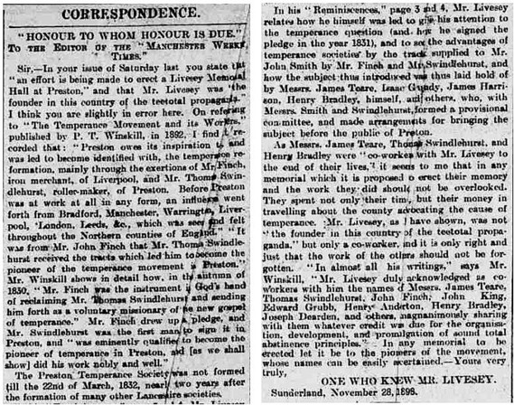 Manchester Weekly Times, December 2 1898