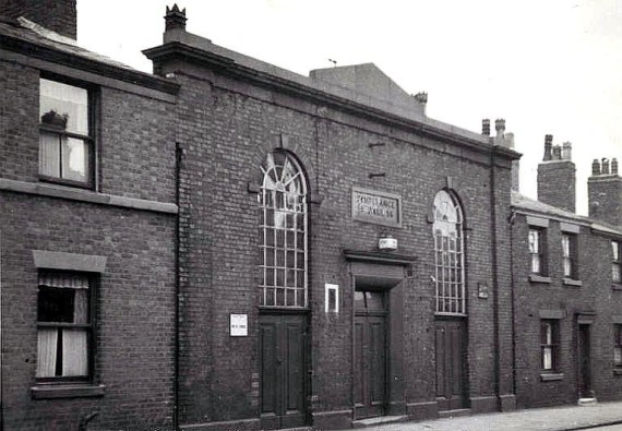 Temperance Hall in North Road, Preston in 1937, two years before it was demolished