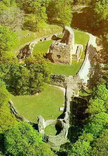Castell Ewloe (Ewloe Castle) in Wepre Woods is a native Welsh castle built by Prince Llywelyn.