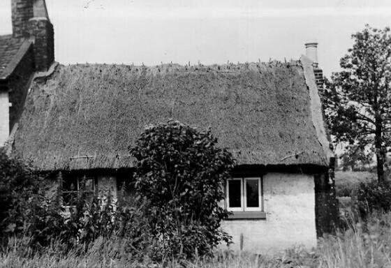 The Last Shore Cottage in Shotton (Demolished in 1960)