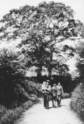 "Wet Lane (""Killins Lane) c. 1920"