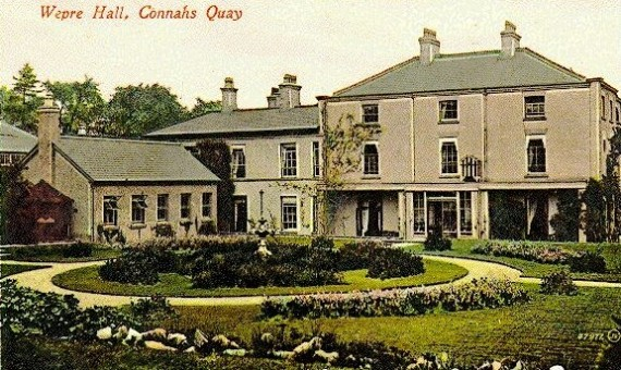 Georgian Wepre Hall in about 1910