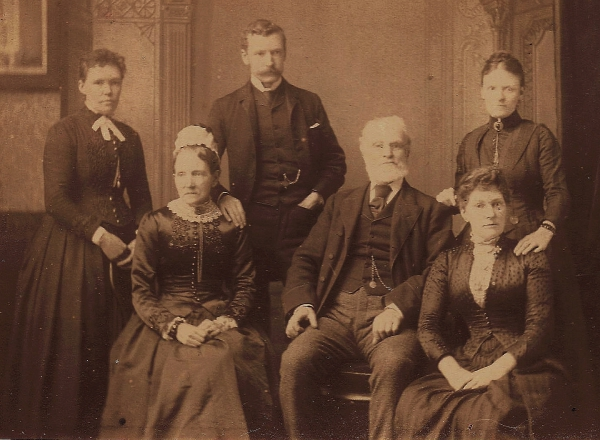 The Swindlehurst Family in about 1878